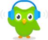 Image that corresponds to Duolingo Podcasts