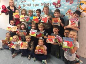 Our class loves Clifford the Big Red Dog Books!