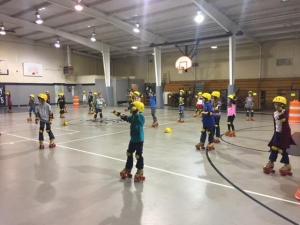 Skating in PE