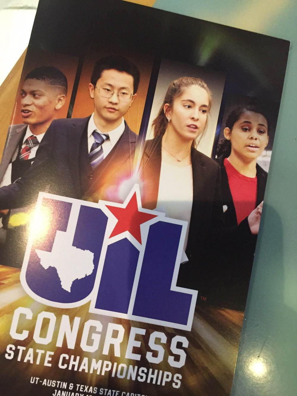 UIL student congress front cover