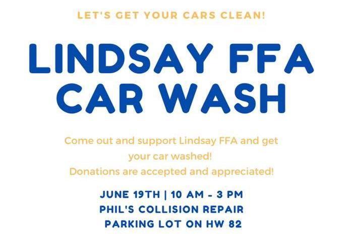 FFA car wash graphic