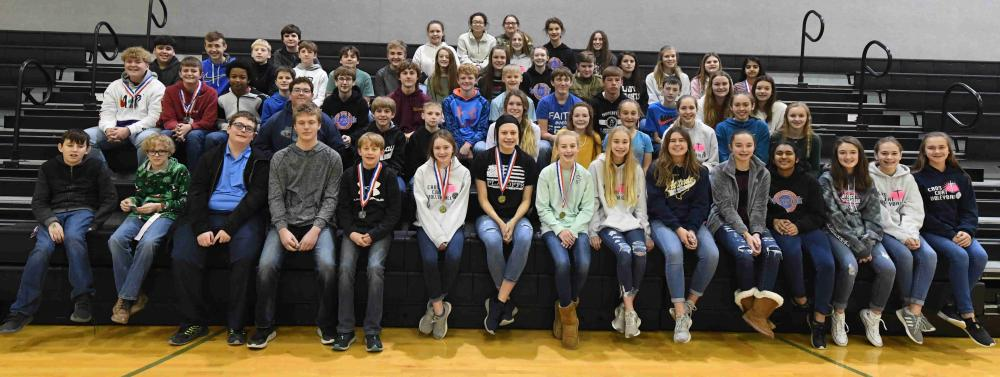 Junior High UIL group photo