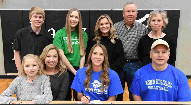 Rachel Metzler, pictured with her family.