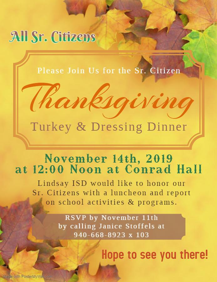 luncheon flyer
