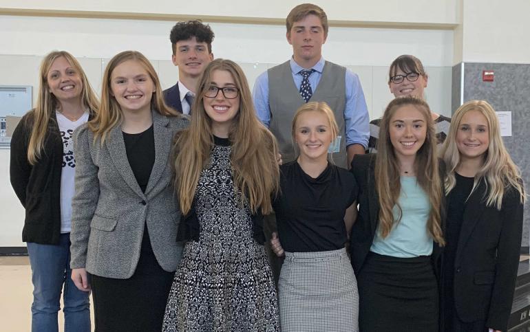 UIL CX Debate team at Princeton.