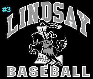 Lindsay Baseball Logo