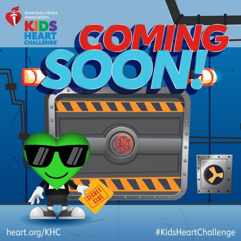 Kids Heart Challenge graphic