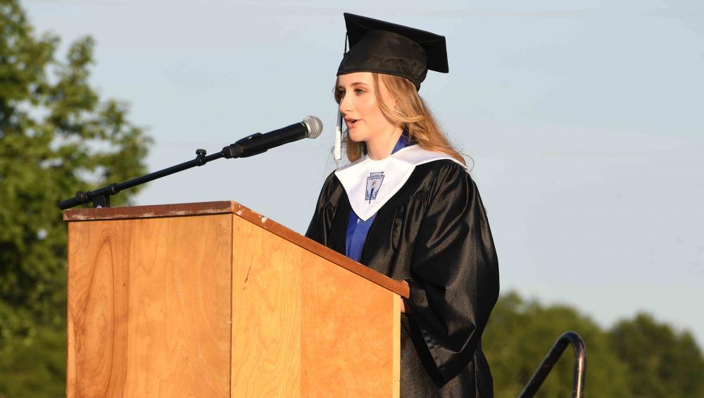 Maggie Krahl Valedictory speech