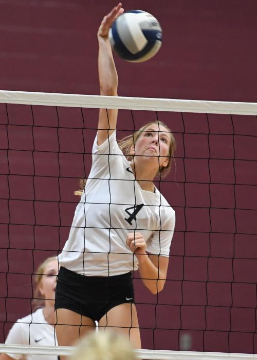 Rachel Metzler kill against Whitesboro
