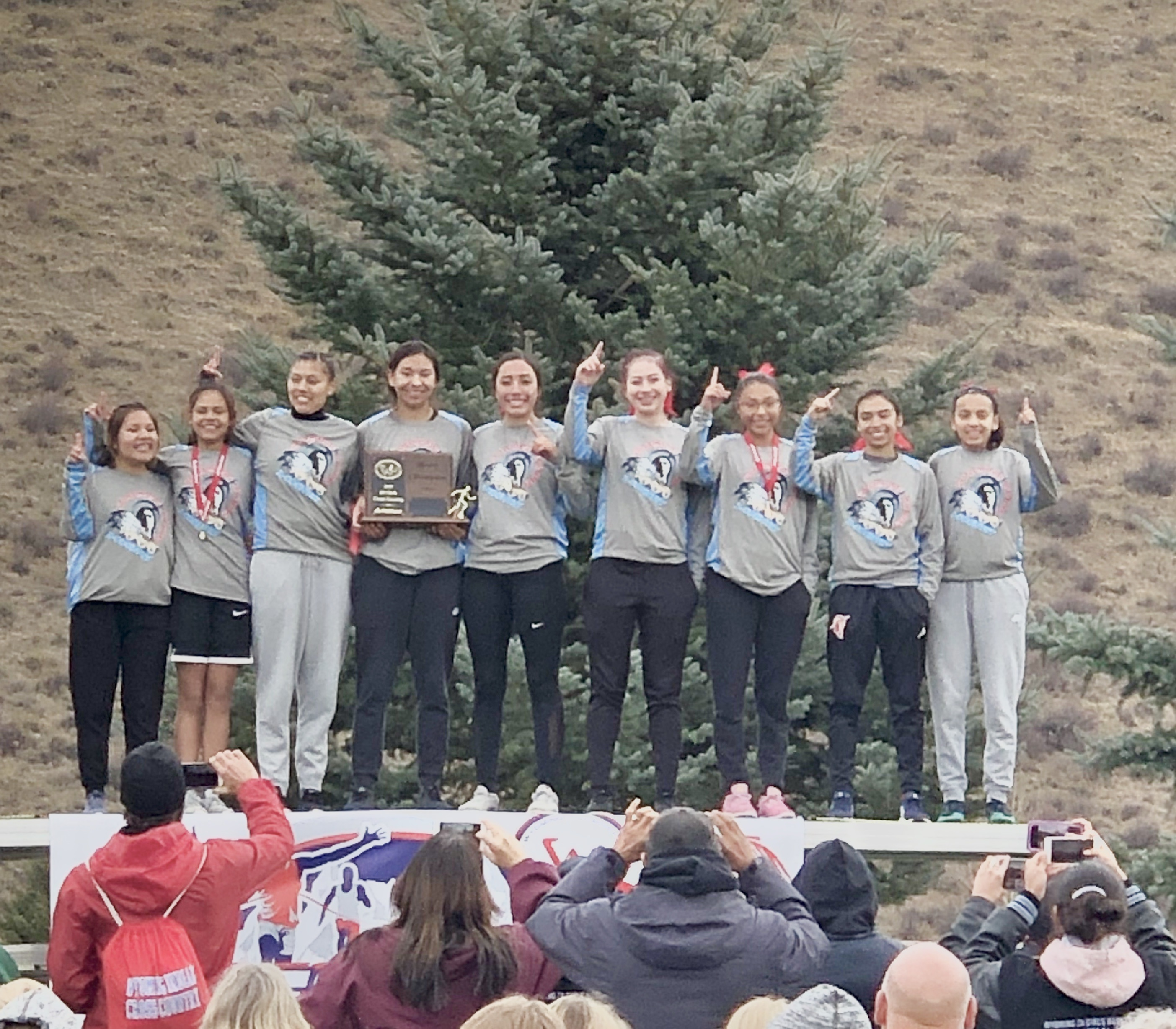 Lady Chiefs 2A Cross Country - State Champions