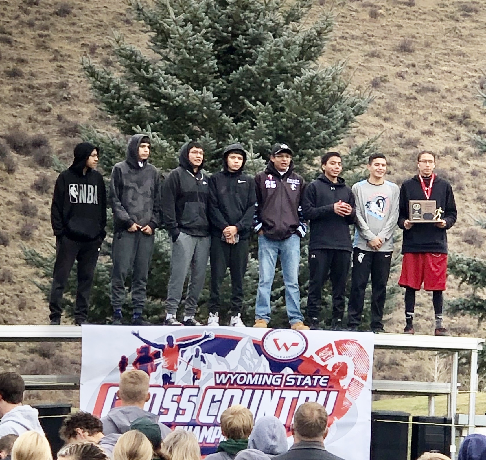 Chiefs Cross Country 3rd Place