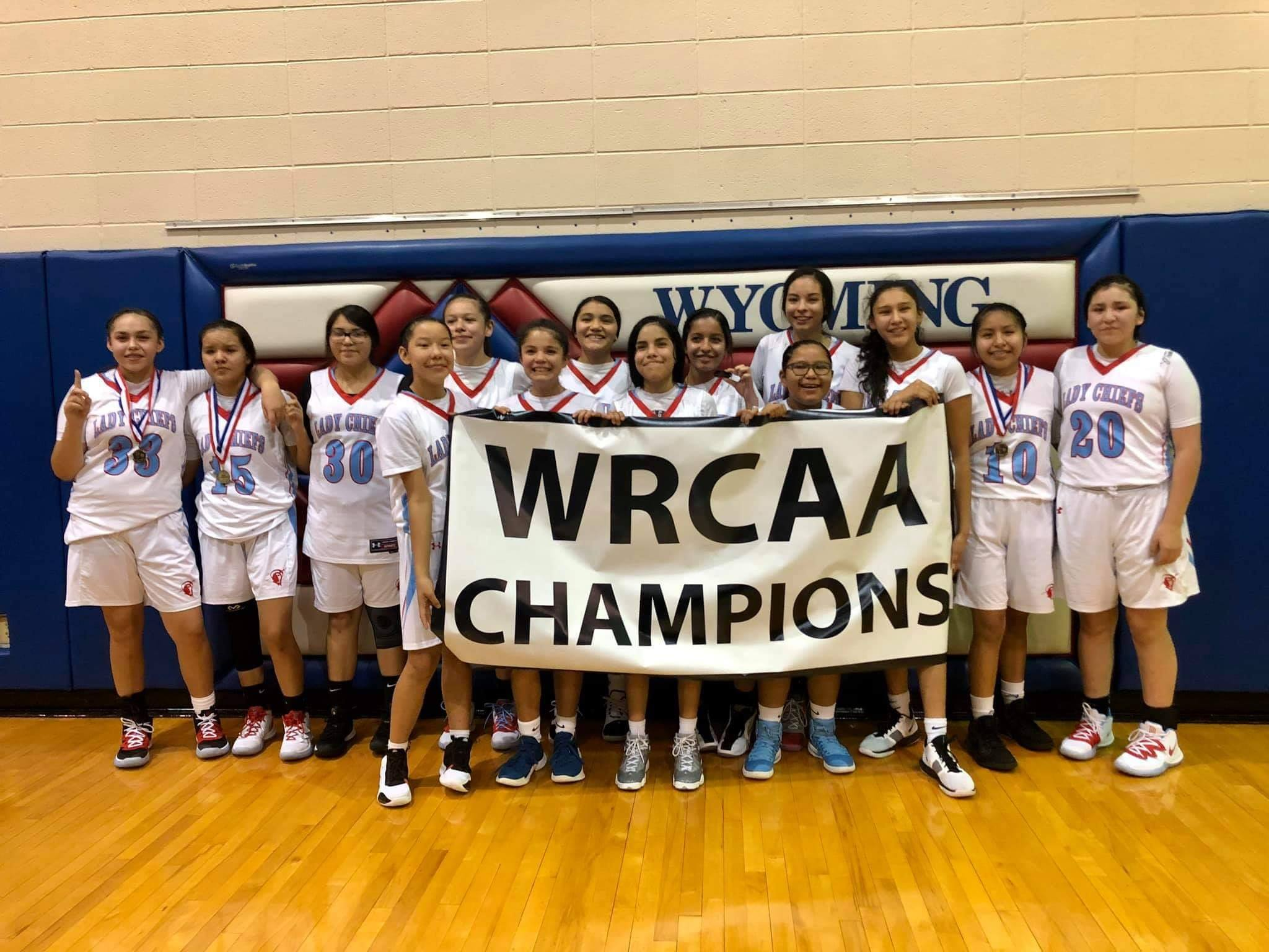 2019 WRCAA Jr High Girls Champions - Lady Chiefs