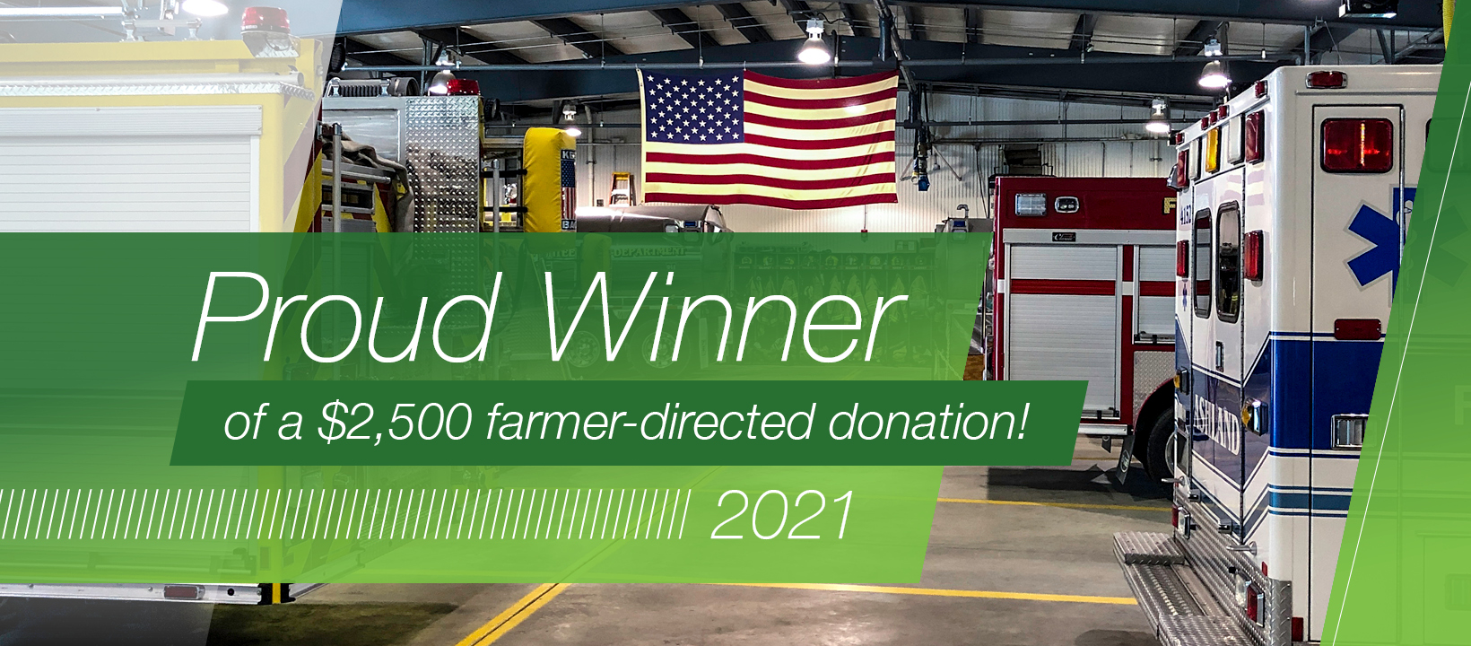 Thank you Larry and Kathy Feikert for the America's Farmers Grant Donation to Bucklin Schools. It is very much appreciated. It will be used to purchase a much needed PA/Speaker system for the baseball/softball/football fields.