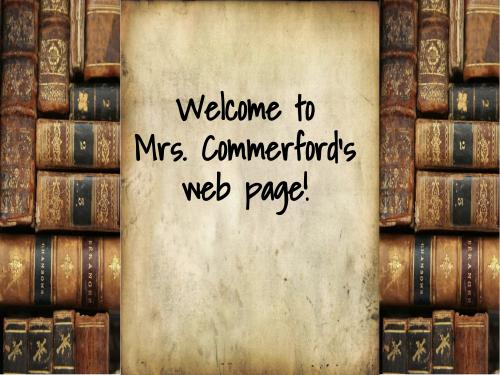 Mrs C Book Background Image