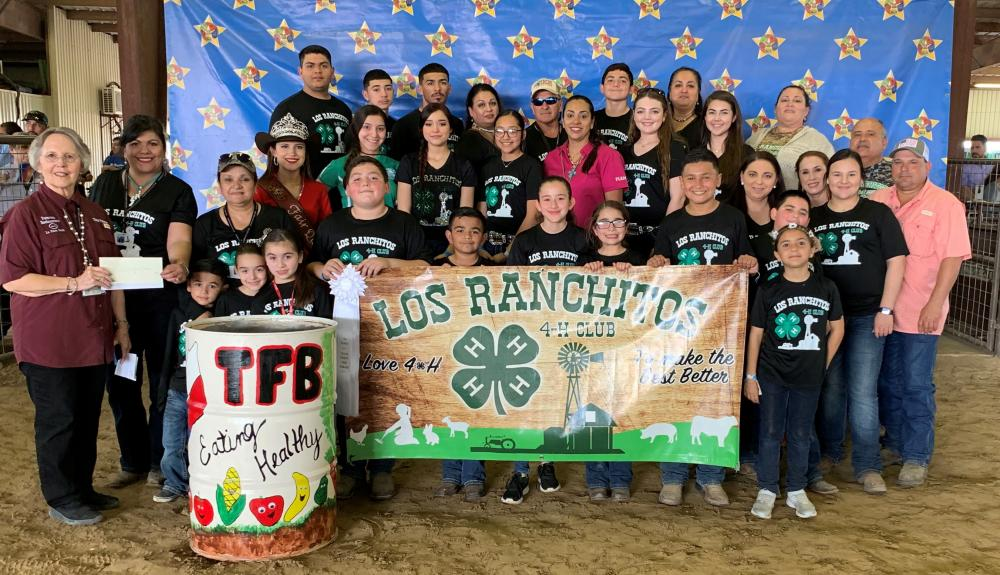 Los Ranchitos 4-H - 3rd Place Floats