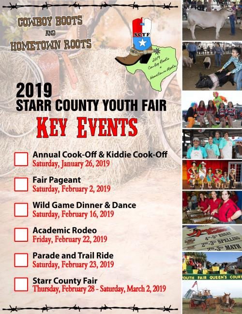 2019 Fair Event Flyer