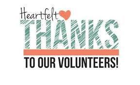 Thanks volunteers!