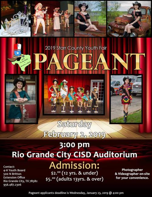 2019 Pageant Flyer