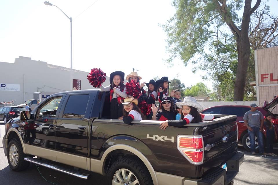 Girls in truck