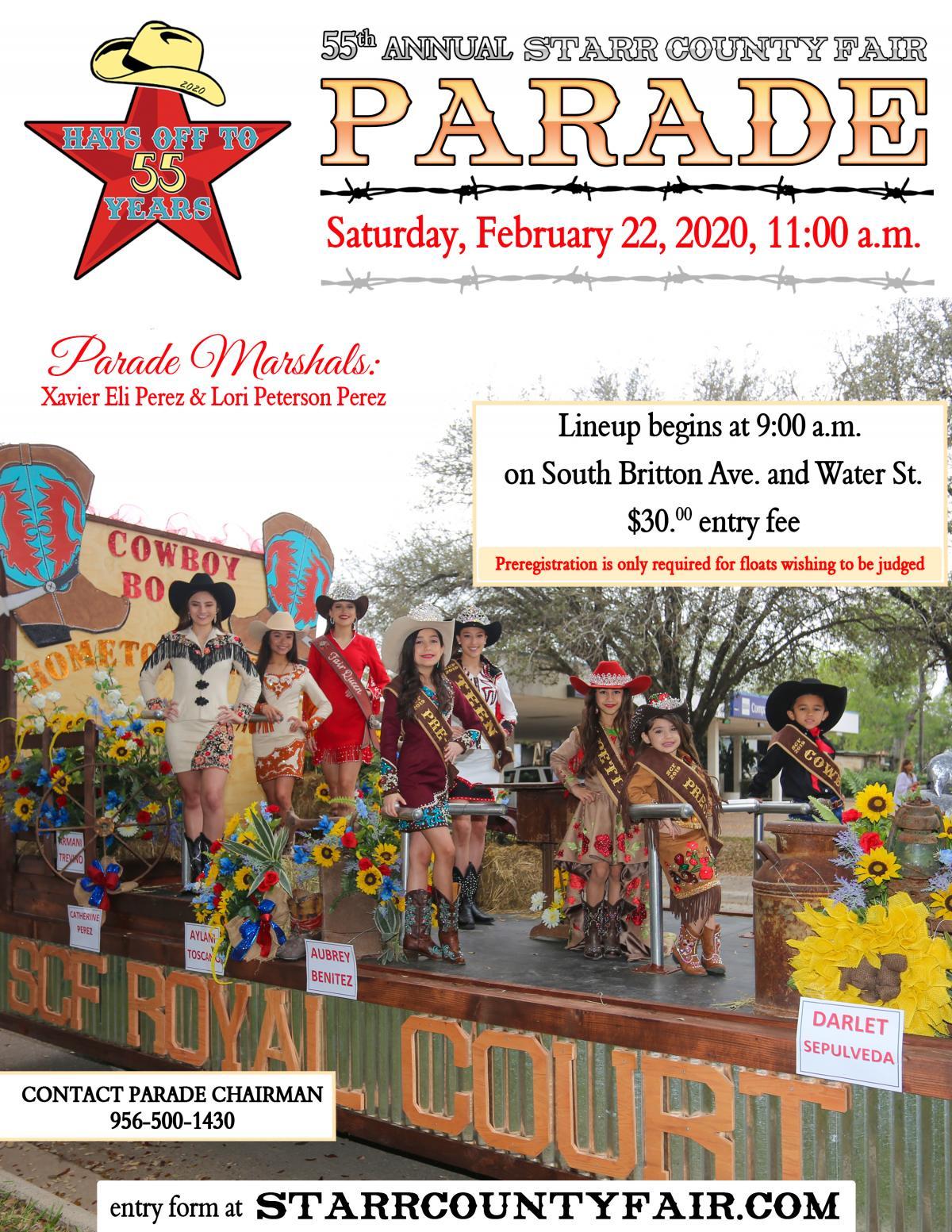 2020 Parade Flyer