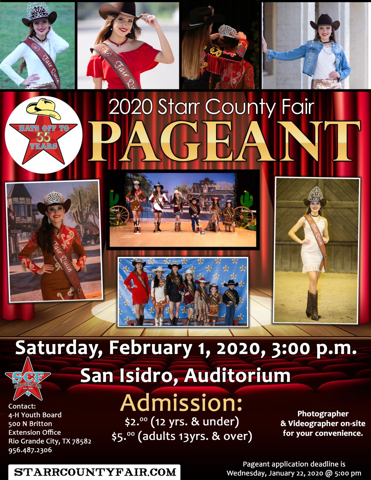 2020 Pageant Flyer