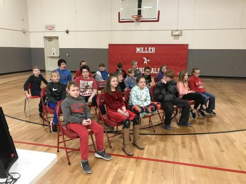 Students that participated in the 2020 Spelling Bee.