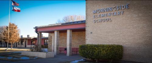 Front of Morningside Elementary