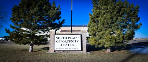 Front of North Plains Opportunity Center