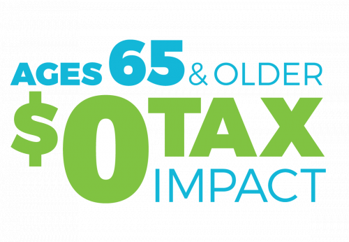 65 or older tax impact