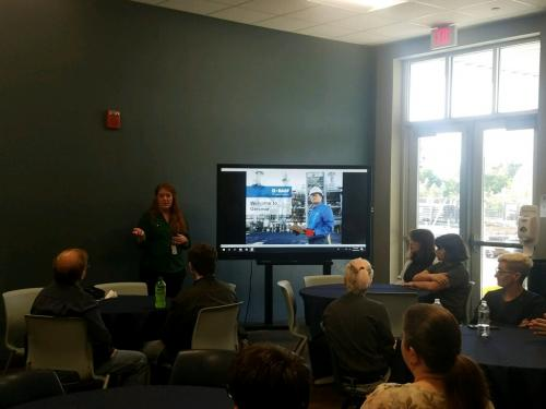University View Academy students learn from experts at BASF in Geismar