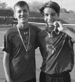 MCMULLEN COUNTY WINS DISTRICT TENNIS