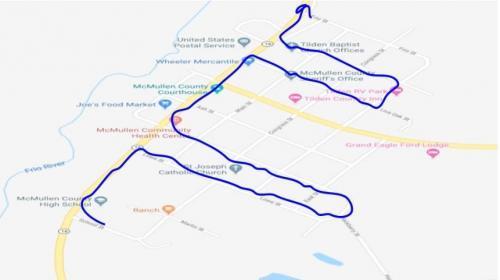 Senior Parade Route 2020