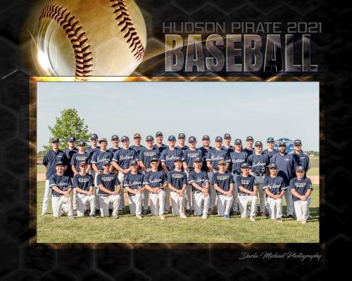 Hudson Pirate Baseball Team