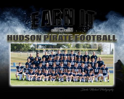 Hudson Pirate Football Team