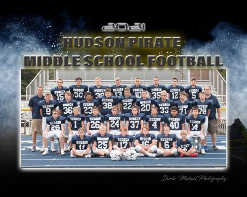 Hudson Pirate Junior High Football Team