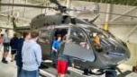 Touring a helicopter