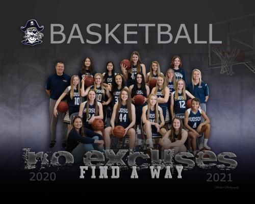 Hudson Girls Basketball Team