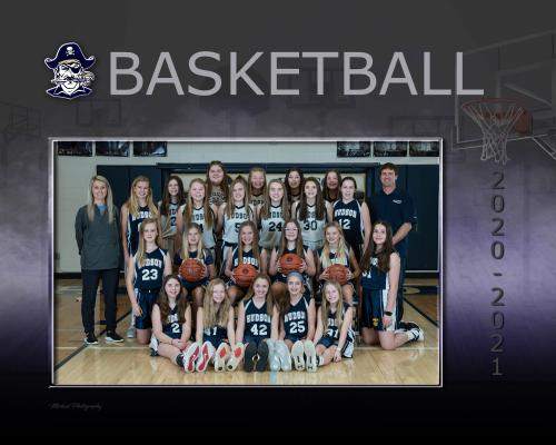 Hudson MS Girls Basketball Team