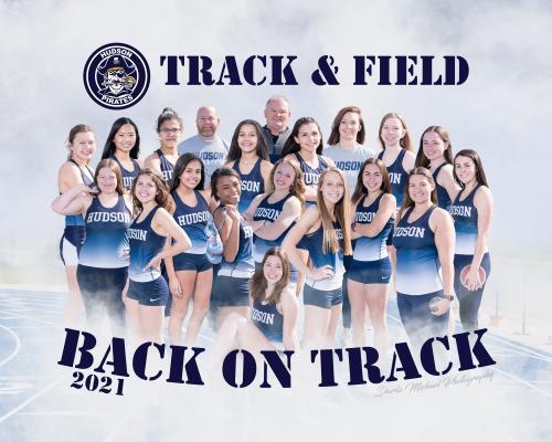 Hudson Girls Track Team