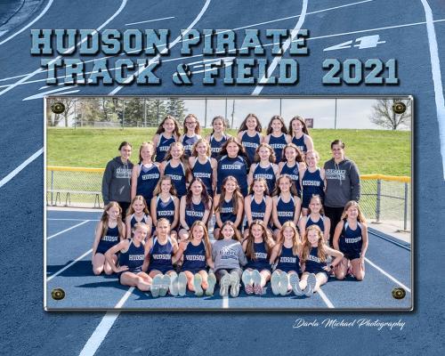 Hudson MS Girls Track & Field Team