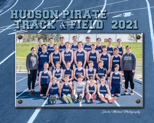 Hudson MS Boys Track & Field Team