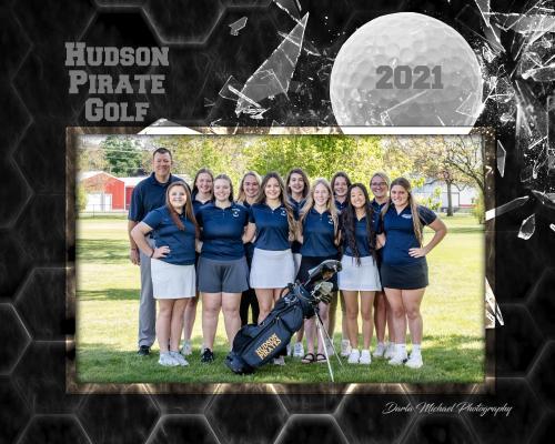 Hudson Girls Golf Team