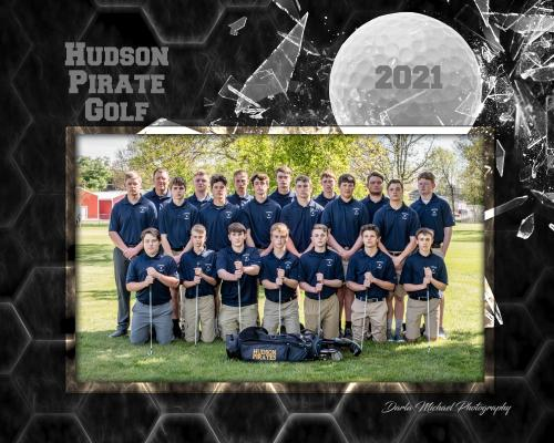 Hudson Boys Golf Team
