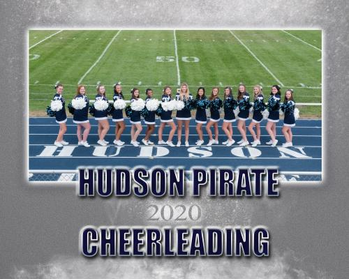 Hudson Football Cheerleading