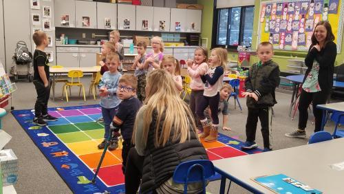 Kindergarten learning