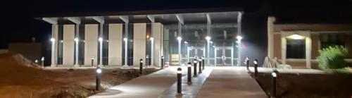 New Entrance at Night