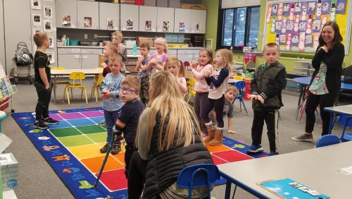 Kindergarten learning