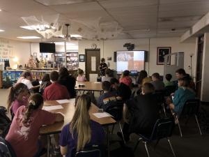 Oct. 2-18 7th-12th Grade GT Meeting- Geologist Camielle Gernhart