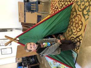 K, 1 and 2 Enrichment- Teepee- Nov. 2018