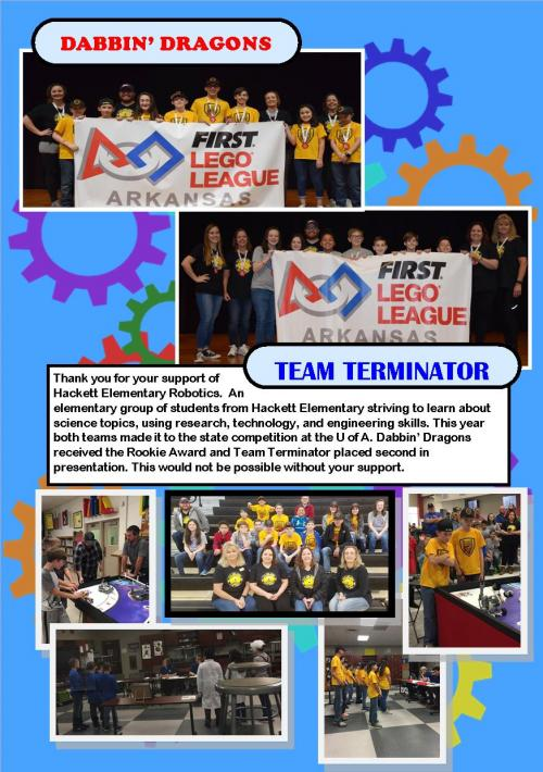 2018-2019 Robotics Season